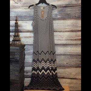 NWT Jon & Anna Flowy Maxi Dress